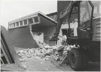M 3589 Sloop gebouw Metaalwarenfabriek Kurz. Eventueel Mei 1985