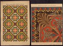 7714 De voorstelling op dit borduurpatroon bestaat uit vier motieven voor verschillende doeleinden, [1860-1865]