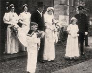 125 Huwelijk Fr. Sinel en mej. Van Heereveld, dochter van burgemeester Van Heereveld