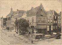 416 Het Wapen van Gelre, hoek Markt - Waterstraat met stadhuis