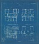 501 Ontwerpen plattegronden verdiepingen: kelder, begane grond, verdieping en zolder, 1904