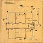 508 Rioleringsplan begane grond Burger Weeshuis, 18-10-1905