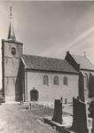 Lie 226 Ned. Herv. Kerk te Ommeren. Voltooide restauratie. De toren is gerestaureerd in de jaren 1981/2