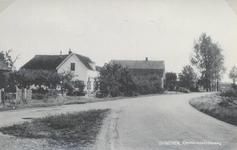 Lie 484 Enkele boerderijen aan de Ommerenveldseweg aan de kant van de dorpskern (kruising met kikvors )