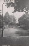 Lie 527 Zicht op Dorpsstraat met aan einde een boomgaard, verbinding Dorpsstraat met Dr. A.R. Holplein