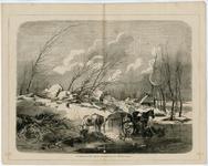 1238 De IJsdam op den dijk bij Zuilichem : vanuit het westen gezien