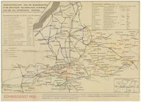 24 Oriëntatiekaart van de busdiensten in de provincie Gelderland, alsmede van de V.V.V.- informatie-centra. Zomerdienst ...