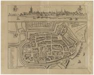 32 Een plattegrond van Tiel, oorspronkelijk uit de 17de eeuw door F. de Wit. Deze plattegrond lijkt zeer veel op de ...