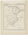 46 Een gemeente kaartje van Lienden. De gemeente grens is ingetekend en ingekleurd