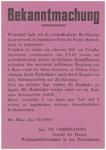 239 Een aanplakbiljet met een tekst waarin de Nederlanders worden opgeroepen de Duitse bezetting niet te saboteren door ...