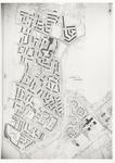 348 Een plattegrond van Rauwenhof en Drumpt-zuid met de woongebieden