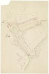 397 Een kadastrale schets van de omgeving Oude Haven met daarop verschillende verwijzingen naar de omgeving. Onder ...