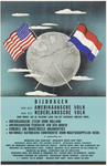 457 Een plaat met een tekst over de bijdrage van het Amerikaanse volk aan het Nederlandse volk met verschillende ...