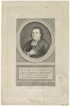 471 Een portretgravure van Isaäk de Leeuw, laatst predikant te Rotterdam, overleden op 3 september 1775, oud zijnde 35 ...