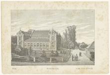 516 Een aanzicht van het gerechtsgebouw gezien vanaf Waalzijde richting Nieuwe Tielseweg