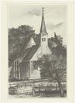 549 Een aanzicht van de Nederlands-hervormde Agatha Capel, in Kapel-Avezaath
