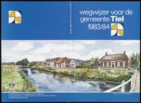 564 Een aantal gebruikte omslagen van de wegwijzer voor de gemeente Tiel: 1983/1984; 1984/1985; 1985/1986; 1987; 1988. ...