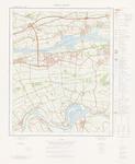 594 Een topografische kaart van het gebied Beneden-Leeuwen (39 G), met tussen de hoekpunten Echteld, Druten, Alphen en ...