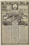 633 Een informatieblad van de gemeente Tiel over het marktwezen, de onderwijsinrichtingen, de gemeentelijke gasfabriek, ...