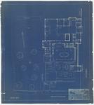 724 Een tekening bedoeld voor de vestiging van het gemeentehuis van Tiel in het Ambtmanshuis aan de Ambtmanstraat en ...