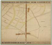 739 Een uitbreidingsplan van Tiel met de wegenkaart, blad 12. Dit uitbreidingsplan is goedgekeurd door de gemeenteraad ...