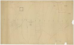 741 Een kaart van het lokaal rijkstelefoonnet in Tiel, afdeling Drumpt, met hoofdkabelverloop in Drumpt