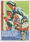 791 Een aanplakbiljet uit de Tweede Wereldoorlog met een tekst die de Nederlandse mannen oproept om zich te melden bij ...