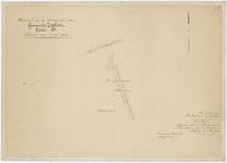 832 Een detailkaartje van sectie B in het Zoelense veld. Het betreft het deel van sectie B, nummer 59 bij de Benedenste ...
