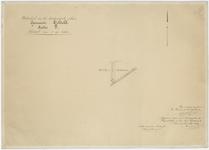 835 Een detailkaartje van sectie F in het binnendijkse gebied van Echteld. Het betreft het deel van sectie F, nummer ...