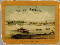 1747-1 Omslag uitgave van 12 litho's van Tiel en omgeving.