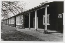 M 12084 De Prinses Beatrixschool aan de Esdoornstraat in de Finse School, in 1988 afgebroken