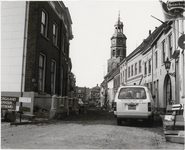 M 12085 De Peperstraat in Buren vlak bij de brug over de Korne