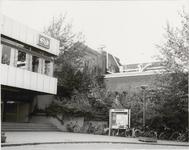 M 12090 De voorzijde van het spoorwegstation van Culemborg