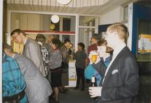 M 5446 In het Stadsarchief wordt het 25-jarig jubileum van het Streekarchivariaat Tiel Buren Culemborg gevierd. ...