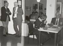 M 5460 In het Stadsarchief van Tiel wordt het 25-jarig jubileum van het Streekarchivariaat Tiel Buren Culemborg ...