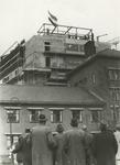 M 732 Het hoogste punt van de nieuwbouw van het bejaardentehuis Walstede is bereikt