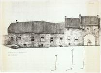 793 Grachtengevels Achterbonenburg en Culemborgsepoort., z.d.
