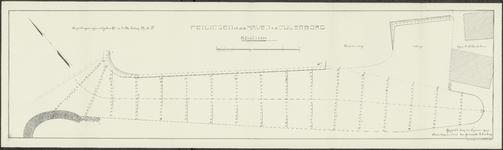 5844 Tekeningen van de peilingen in de haven / stadshaven te Culemborg, 1909, 1910