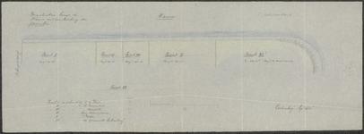 5937 Situatietekening van de bergplaatsen langs de haven te Culemborg, 1910