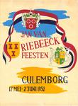 245 Jan van Riebeeck feesten Culemborg, 17 Mei -2 Juni