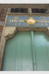 5695 Entree Stadhuis. Fries boven voordeur na de restauratie met de A en E van Anthony de Lalaing en Elisabeth van Culemborg.