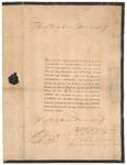 92 Een bericht van overlijden van Diederik Louis Baron van Brakell, heer van den Brakell, Vreedestijn en ...