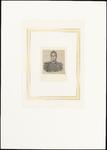 402 Portret generaal Chassé; borststuk, naar links; in uniform; met levensbeschrijving in het Duits in gotische letters ...