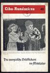 7612 Boekje over de betekenis van het borduren van middeleeuwse figuren op schildereien, 1941