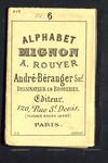 7628 Leporelloboekje met lichtgele kaft, 10 blz. alfabetjes en andere motiefjes voor kruissteek in blauw, [vierde kwart ...
