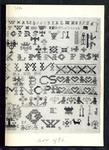 7884 Dit is een boekje met foto's en beschrijvingen van merklappen., november 1986