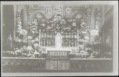 717 Reproductie. Geen afbeelding van altaar R.K. Kerk Culemborg