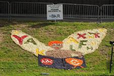 Mozaiëken Fruitcorso 2013. Mozaiek met als titel Lezen geeft vleugels aan je fantasie , gemaakt door Openbare ...