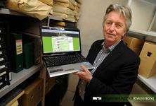 Portretfoto van Erik de Ree werkzaam bij het Groningse De Ree archiefsystemen. Dit bedrijf onderhoudt het programma ...