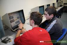 Leerlingen van het RSG Lingecollege (locatie Heiligestraat) volgen diversen workshops bij het RAR in het kader van het ...